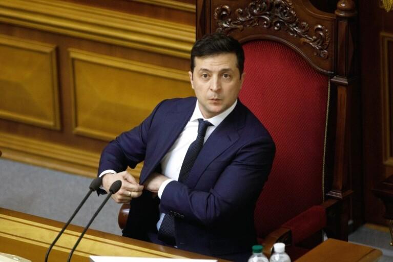 Зеленский приехал в Раду на торжественное заседание