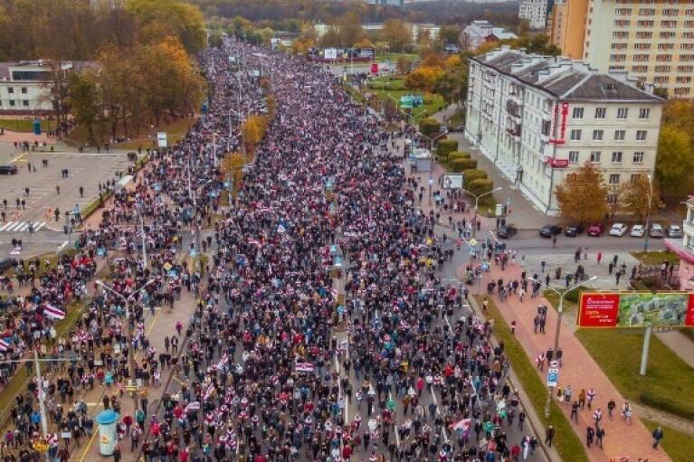 Народний ультиматум у Білорусі: силовики Лукашенка затримали майже 300 осіб