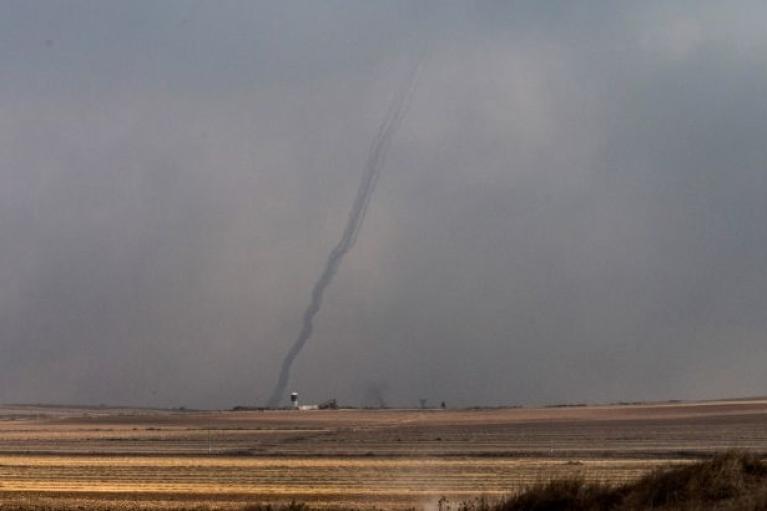 Конфликт усугубляется: ХАМАС выпустил по Израилю несколько десятков ракет из сектора Газа