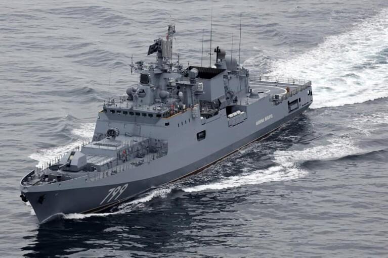 РосЗМІ звітують, що у Чорне море ввійшли військові кораблі Росії