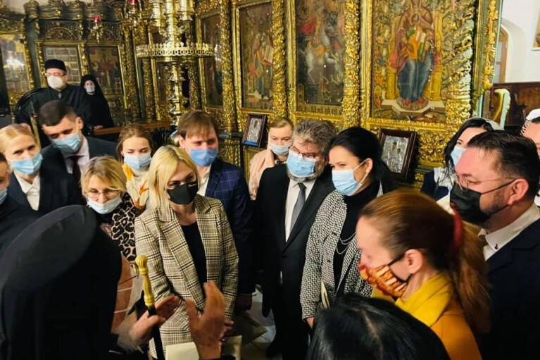 Варфоломій зустрівся з нардепами та запевнив, що відвідає Україну в цьому році
