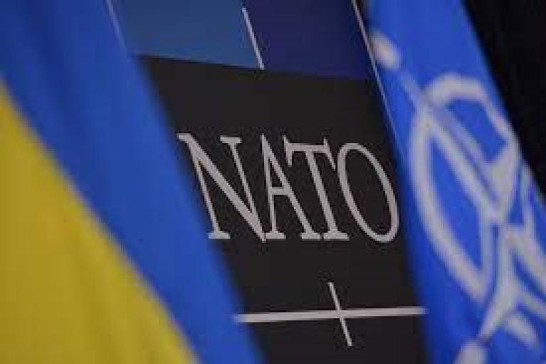 """Белый дом отредактировал комментарий о вступлении Украины в НАТО, зачеркнув слово """"да"""""""
