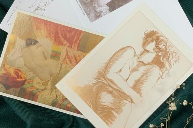 В Украине впервые выпустят почтовые марки с обнаженными женщинами (ФОТО 18+)