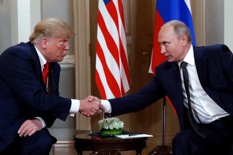 """""""Я йому подобався, він мені подобався"""": Трамп розповів про стосунки з Путіним"""