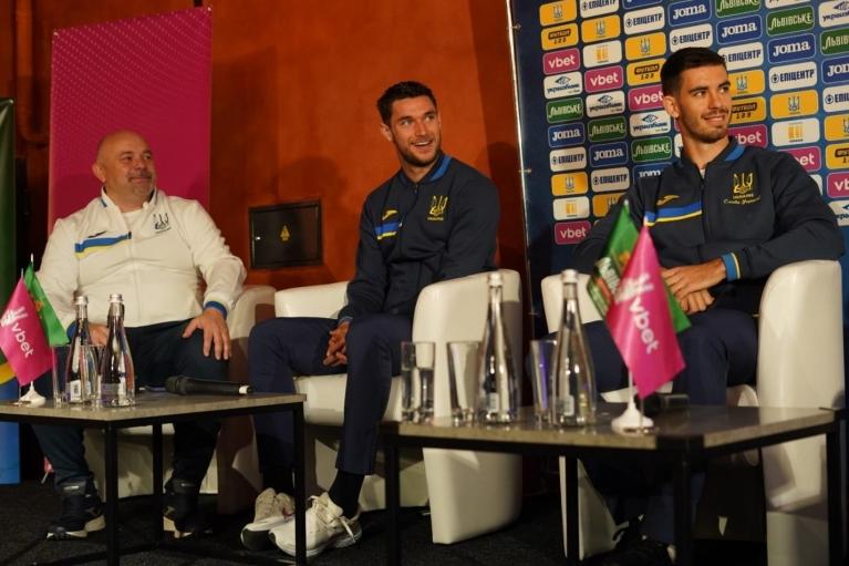 Впервые пресс-конференция Национальной сборной Украины по футболу состоялась на территории партнера – Львовской пивоварни
