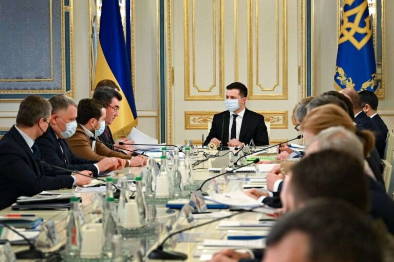 В РНБО таємно обговорили ситуацію на Донбасі