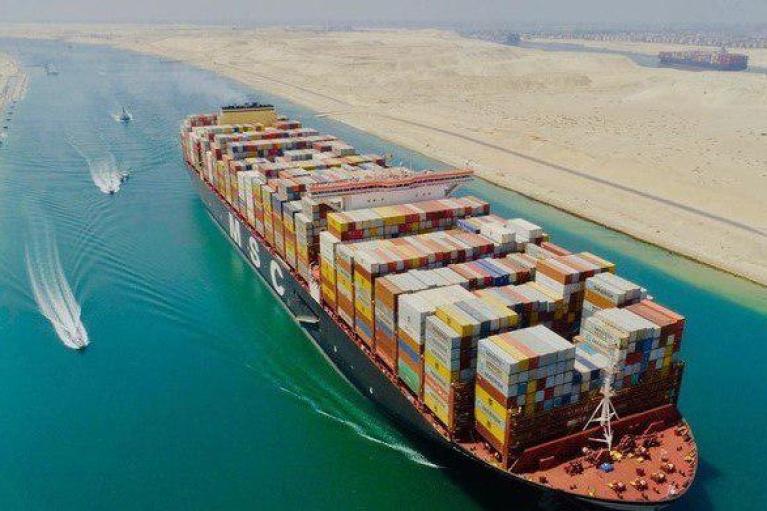 В Египте собрались расширять Суэцкий канал