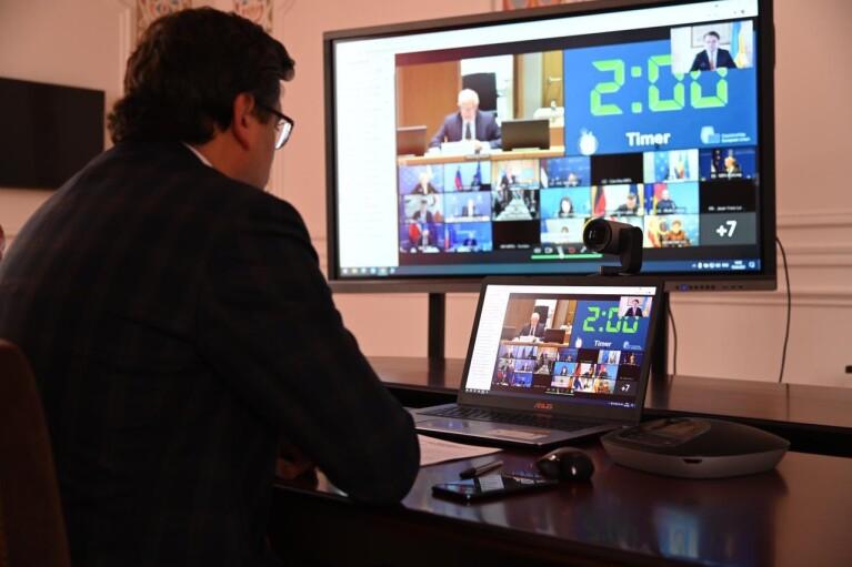Кулеба запропонував колегам з ЄС план дій проти Росії,  яка тримає курс на загострення