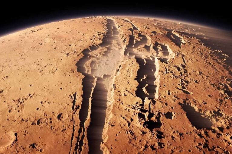 Сильні баси: NASA оприлюднило нове відео з Марса зі звуком вітру