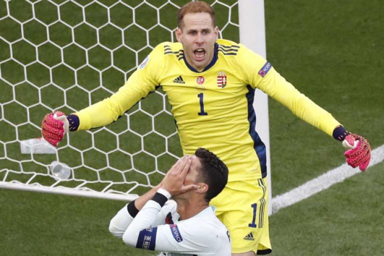 Ронадлу с двумя рекордами: Португалия разгромила Венгрию на Евро-2020