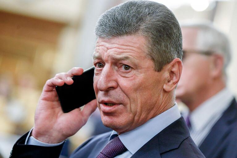 """Козак предложил Франции и Германии провести переговоры с террористами """"ЛДНР"""" прямо на Донбассе"""