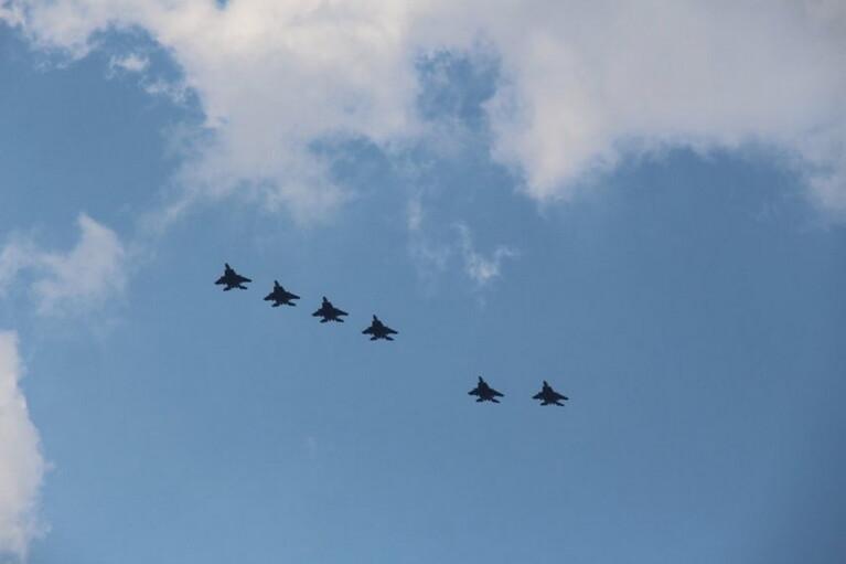 США перебросили в Польшу несколько десятков истребителей