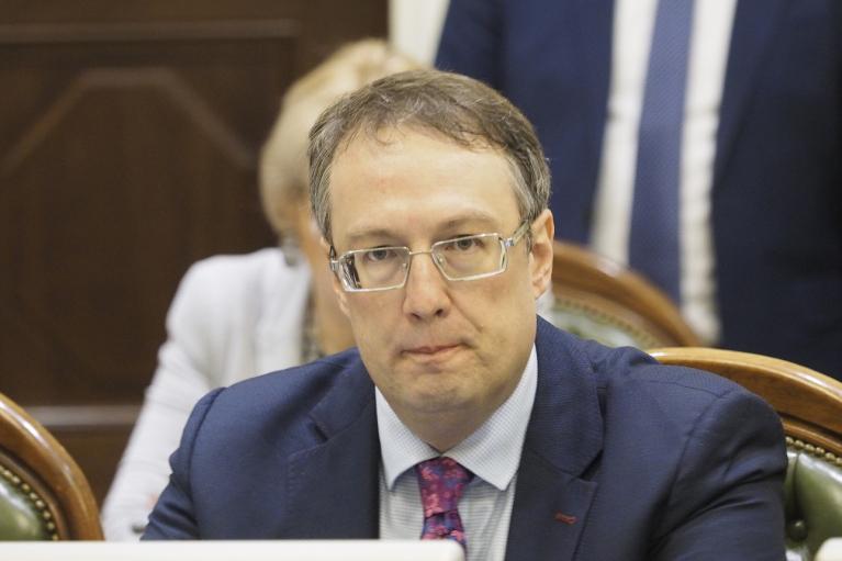 У Геращенко произошел конфуз с котом в прямом эфире (ВИДЕО)