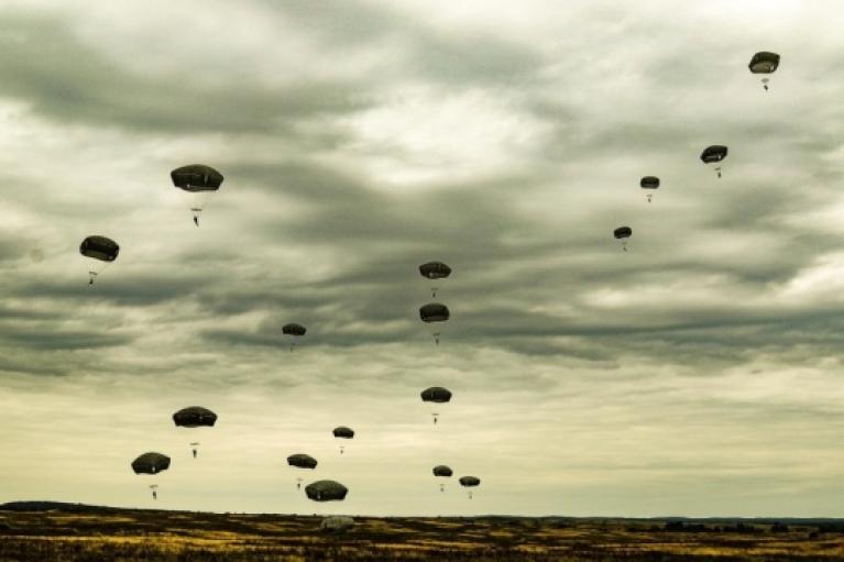 Учения Rapid Trident-2021: Военные Украины и США осуществили совместное десантирование