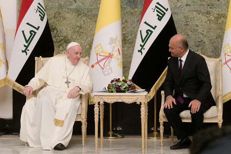 Візит Папи Римського до Іраку порадував Іран