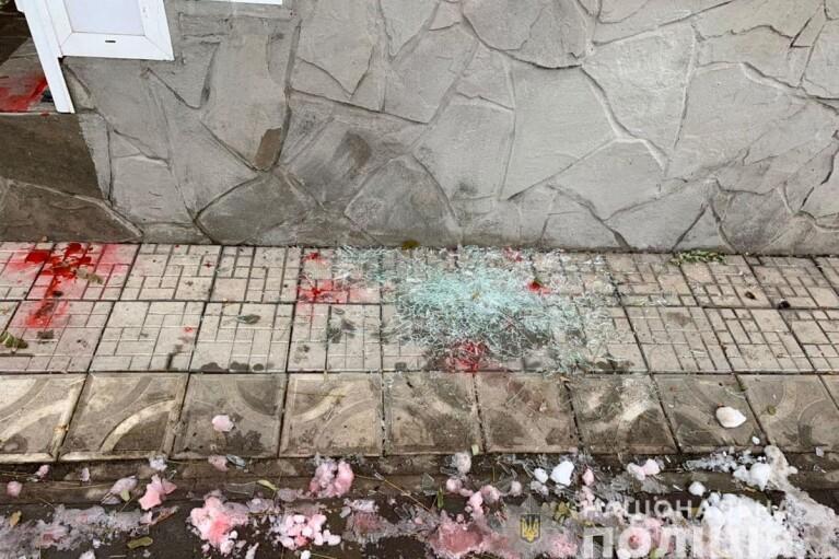 В Мариуполе совершено нападение на два партийных офиса (ФОТО)