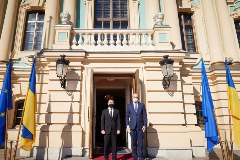Оккупация Крыма: Зеленский просит ЕС усилить санкции