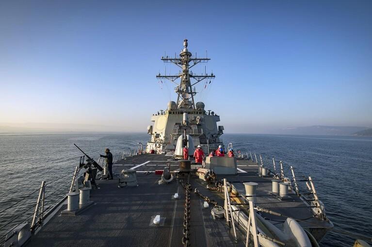 США передумали направлять корабли в Черное море, — СМИ