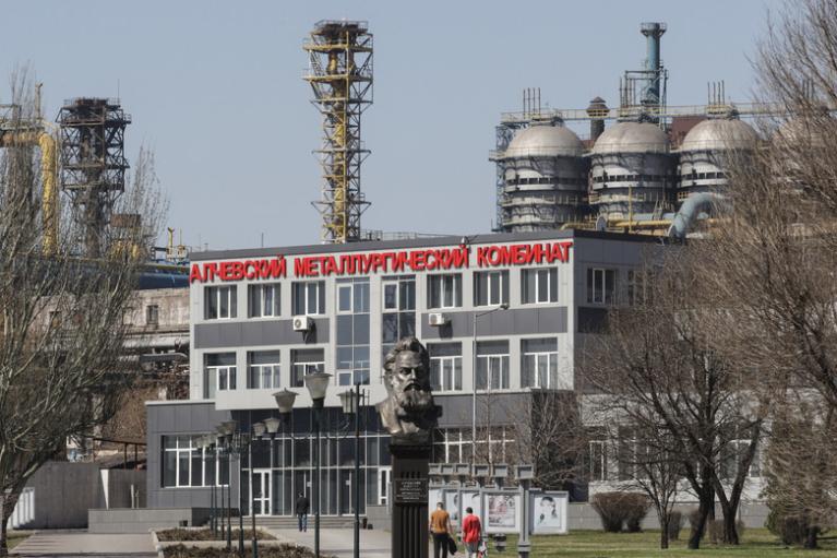 Забастовка в Алчевске. Что будет с комбинатом и ждать ли социальный взрыв в ОРДЛО