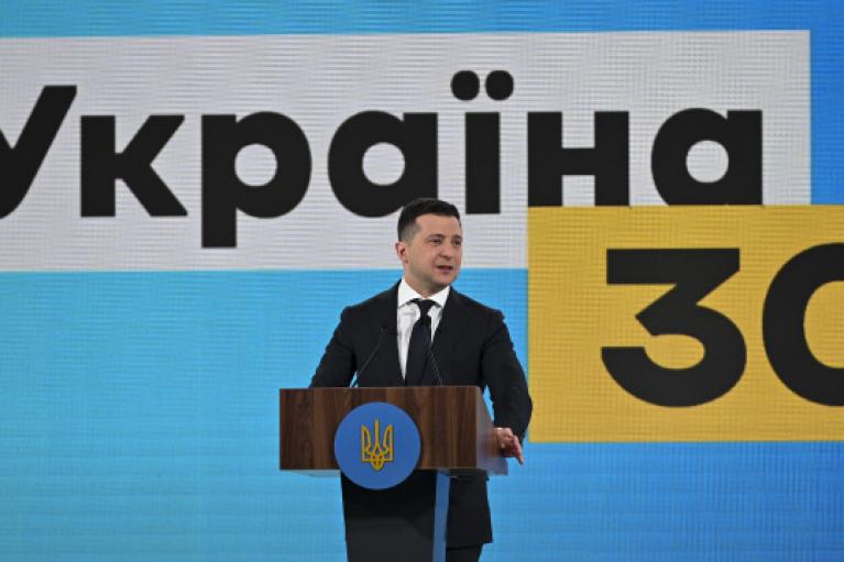 """Зеленский представил программу """"Здоровая Украина"""""""
