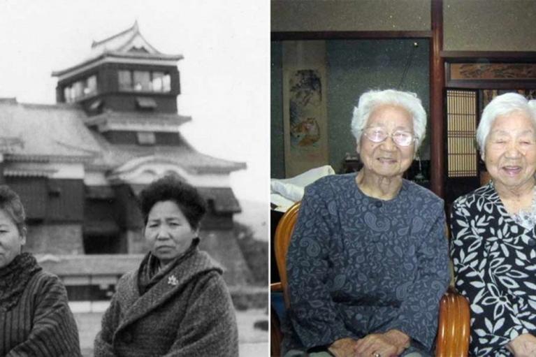 Самыми пожилыми близнецами мира признали 107-летних сестер из Японии