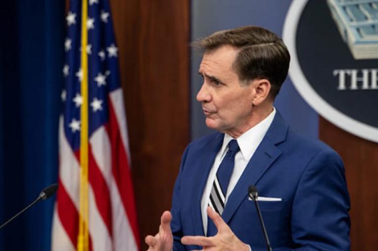 """""""Треба питати Шойгу"""": Пентагон закликав Росію пояснити нарощення військ на кордоні з Україною"""