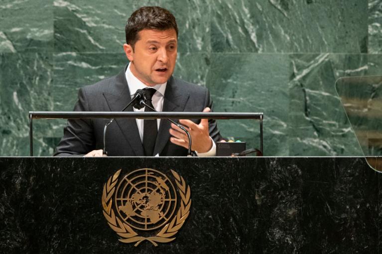 Пафосное и жалкое. Как Зеленский в ООН Республику ШКИД продвигал