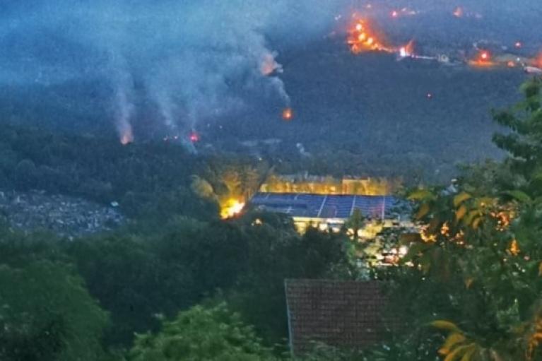 В Сербии новые взрывы на боескладах: людей эвакуируют (ВИДЕО)