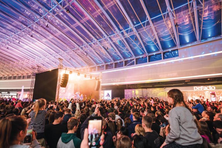 Концерты и розыгрыши. Как ивенты помогают привлекать в ТРЦ десятки тысяч гостей