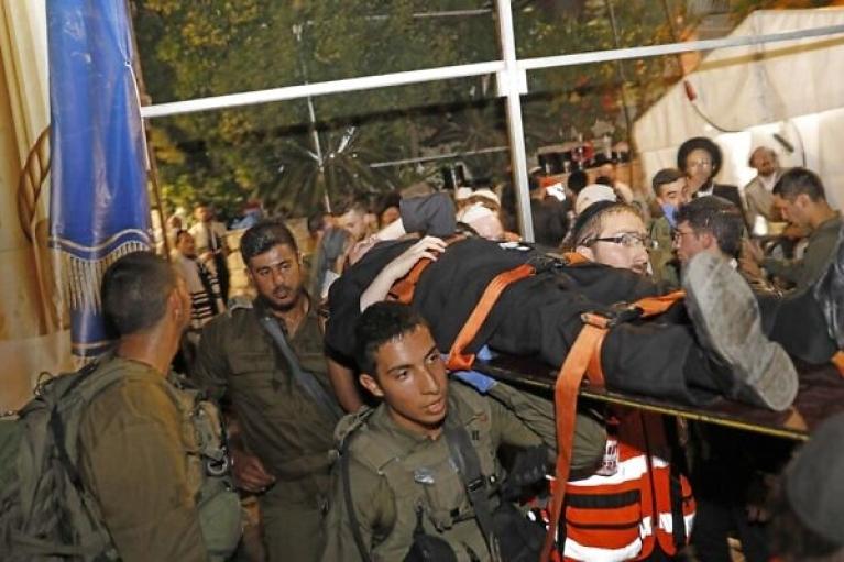 В ізраїльській синагозі обрушилася трибуна: є загиблі і поранені (ФОТО, ВІДЕО)