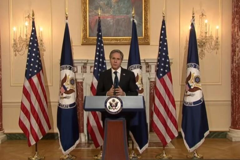 Держсекретар Блінкен назвав ключові пріоритети Білого дому (ВІДЕО)
