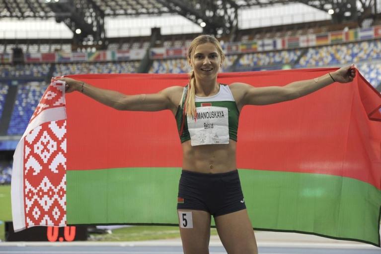 Білоруська атлетка Тимановська прибула до Варшави