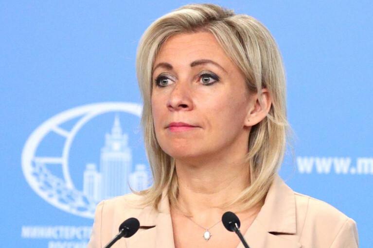 Захарова обвинила Зеленского в проведении кампании по дезинформации