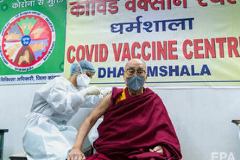 Степанов закликав українців вакцинуватися та навів приклад Далай-лами