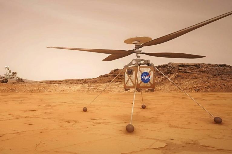 Вертоліт NASA виконав найтриваліший політ