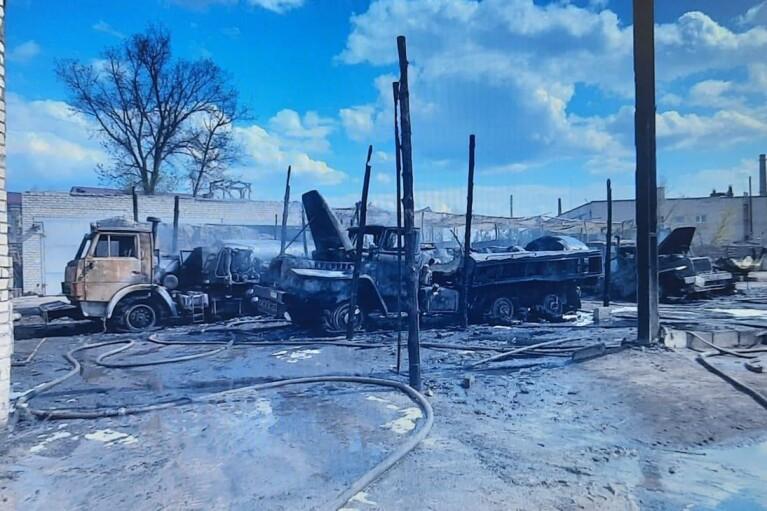 Пожежа у військовій частині на Луганщині: з'явилися подробиці (ФОТО)
