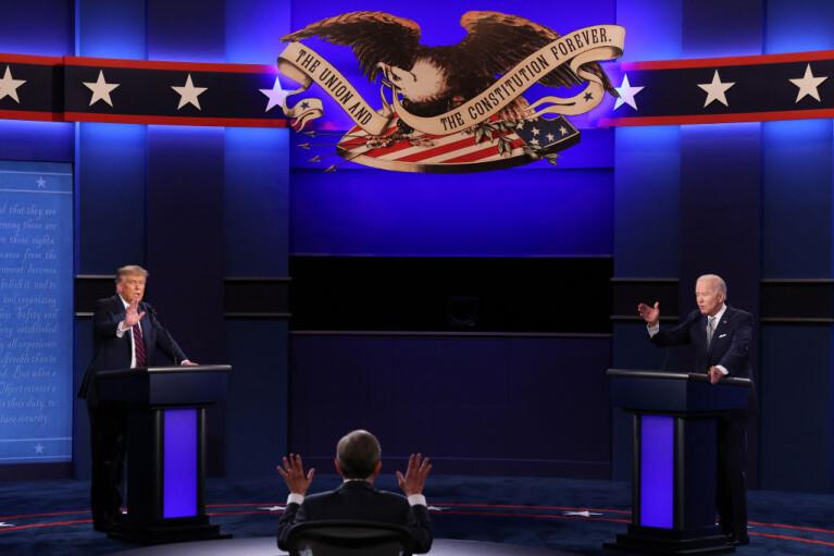Ругань с элементами политики. Как Трамп превратил дебаты в стендап-шоу