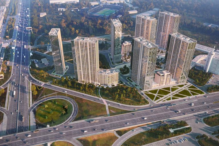 """Группа компаний DIM ввела в эксплуатацию первую очередь ЖК """"Метрополис"""" на 760 квартир"""
