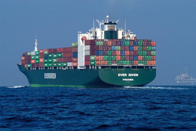 Власти Египта арестовали судно Ever Given, которое блокировало Суэцкий канал