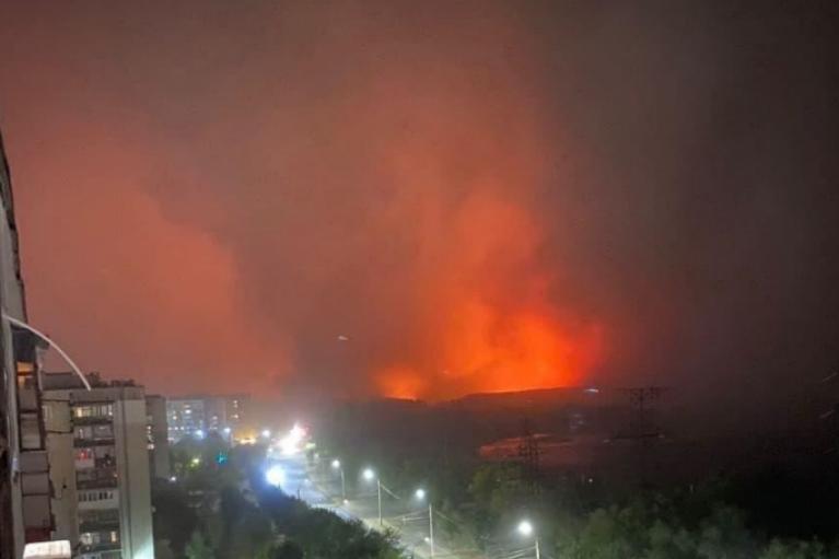 В Северодонецке из-за пожаров и эвакуации закрыли школы