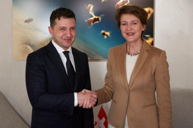 Швейцарский вариант. Поможет ли Зеленскому президент Конфедерации увернуться от Минска