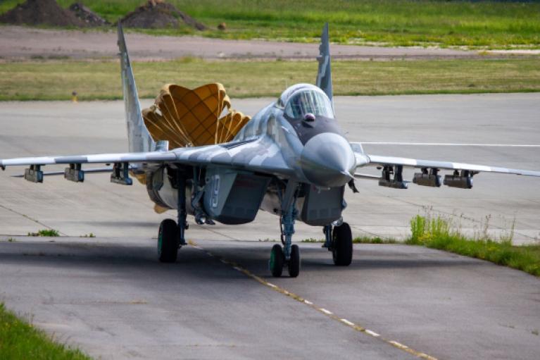 ВСУ получили модернизированный МиГ-29 (ФОТО)
