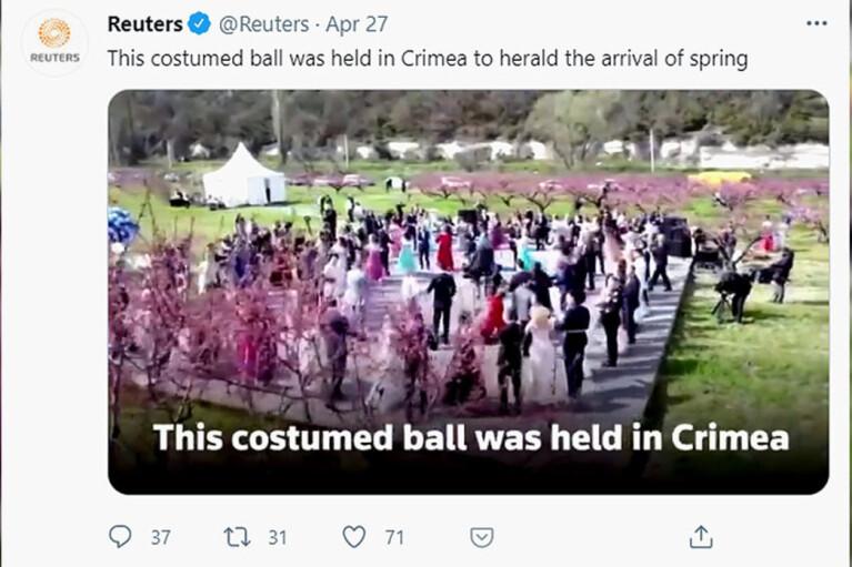 Крым, Reuters и бал. Как российские нарративы завоевывают мир