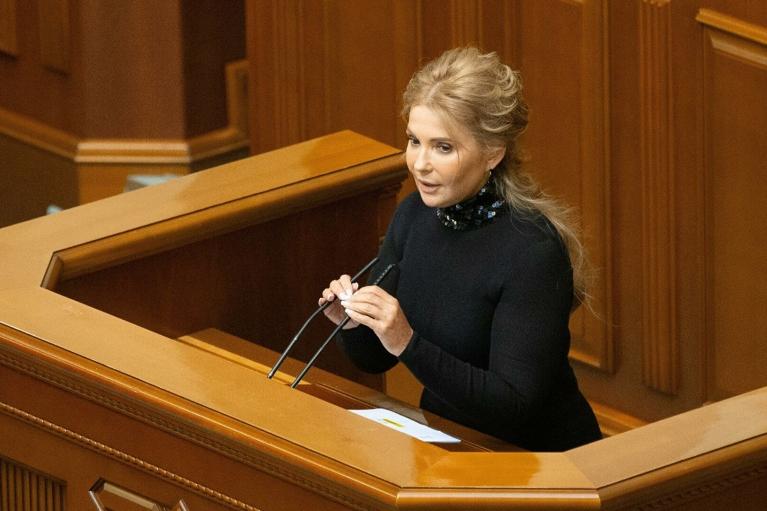 Тимошенко не захотела увольнять министров и вывела своих нардепов из зала
