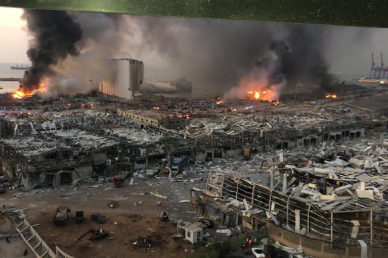 Взрыв в Бейруте: погибли 73 человека, пострадали свыше 3700 (ВИДЕО)