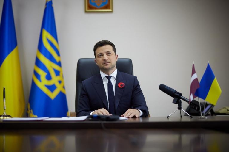 Зеленский и президент Латвии подписали декларацию о европерспективе Украины