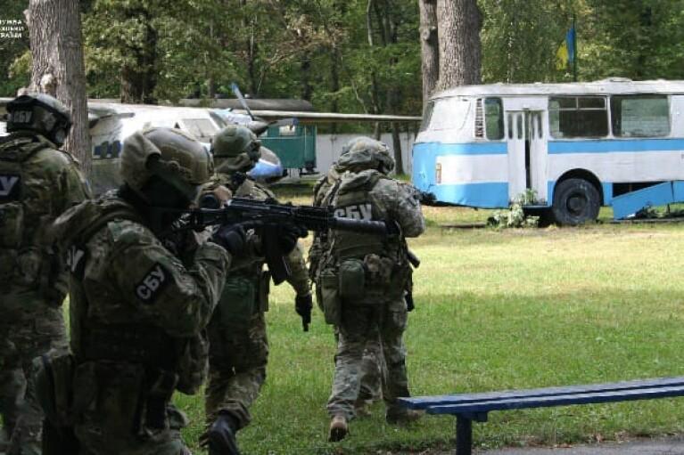 СБУ проведе антитерористичні навчання на кордоні з Росією