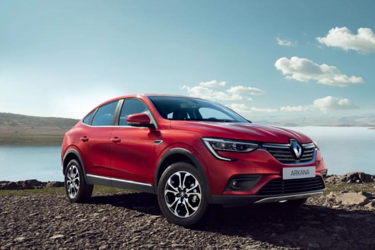 Кросовер Renault Arkana вироблятимуть на нашому ЗАЗі