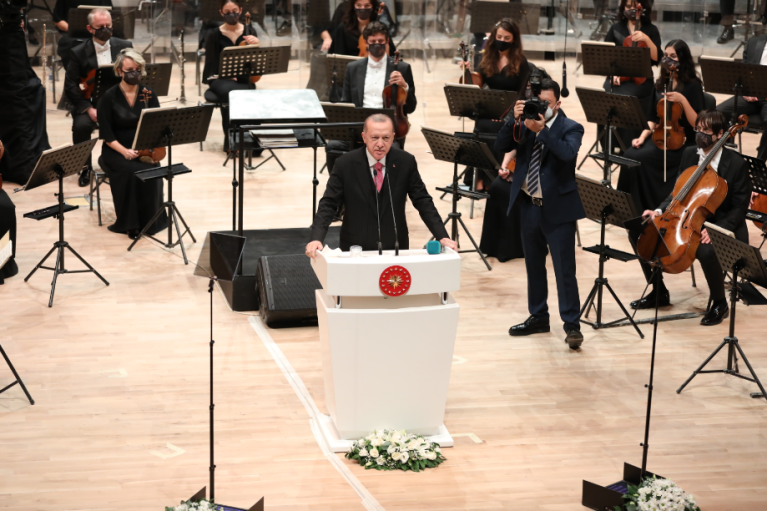 В Анкаре открыли новое здание одного из древнейших оркестров в мире (ФОТО)