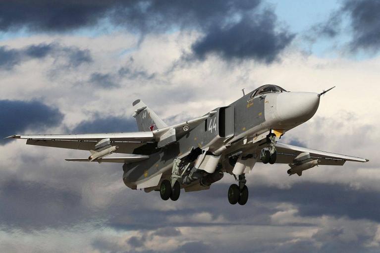 Росія почала навчання з використанням бомбардувальників біля кордонів України